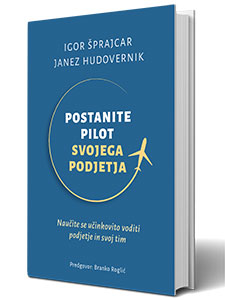 Knjiga - Postanite pilot svojega podjetja